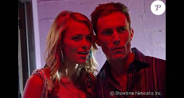 """Katia Winter et Desmond Harrington dans la saison 7 de """"Dexter"""", 2012."""