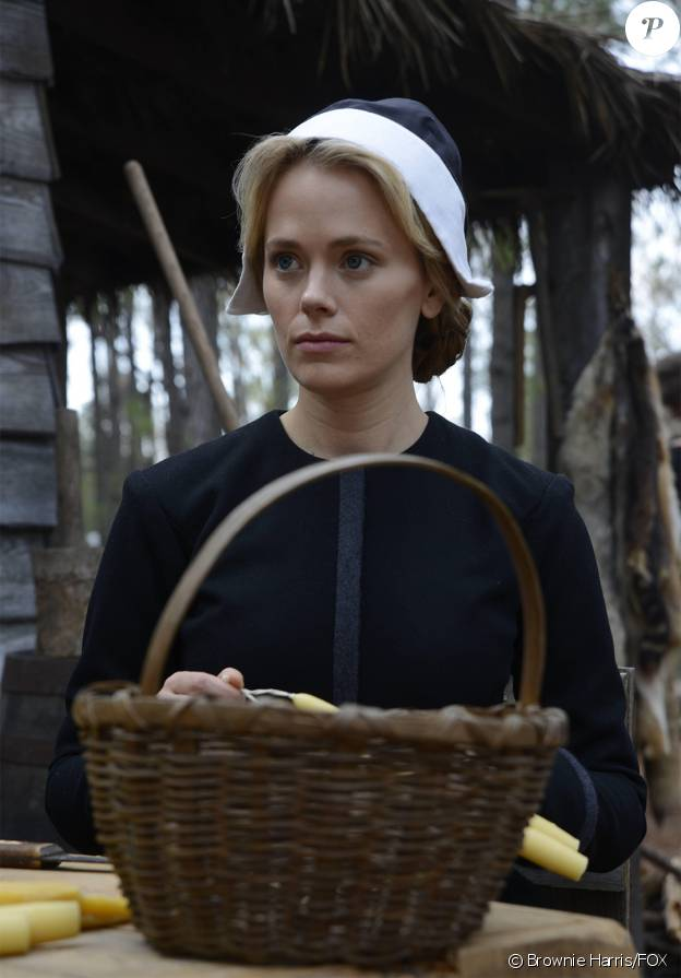 "Katia Winter dans la saison 2 de ""Sleepy Hollow"", 2015."