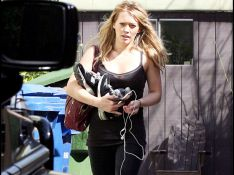 REPORTAGE PHOTOS : Quand Hilary Duff se dépense autant en sport... qu'en shopping !