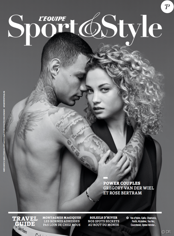 la couverture du magazine sport style avec gregory van der wiel et sa compagne f vrier 2016. Black Bedroom Furniture Sets. Home Design Ideas