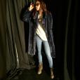 Melissa Forde lors du défilé de Rihanna, Fenty x Puma, à New York durant la Fashion-Week, le 12 février 2016