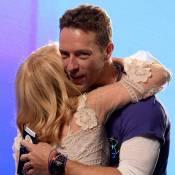 Kylie Minogue dans les bras de Chris Martin : Soirée rock'n'roll pour la popstar
