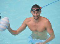 Camille Lacourt : Prof en slip de bain pour Dan Carter et ses potes rugbymen