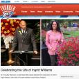 Le site de l'OKC Thunder a rendu hommage à Ingrid Williams, épouse de l'entraîneur adjoint du club, Monty Williams, le 18 février 2016 à l'occasion de ses funérailles.