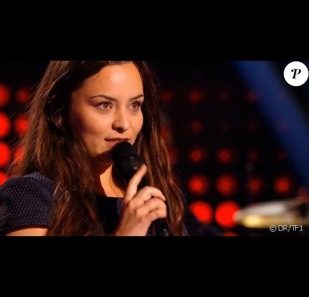 Akasha, dans The Voice 5, le samedi 20 février 2016 sur TF1
