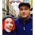 Hayley Williams (Paramore) et son futur mari Chad Gilbert (New Found Glory) - 2014