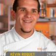 Kévin dans Top Chef, le lundi 22 février 2016, sur M6