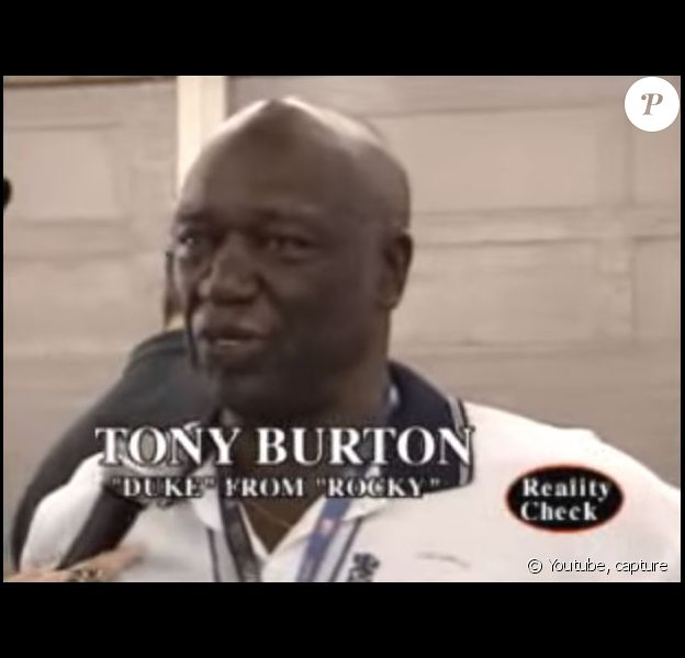 Tony Burton, lors d'une interview en 2009.