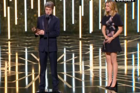César 2016 : Rod Paradot, espoir bouleversant et bouleversé, sacré par Louane
