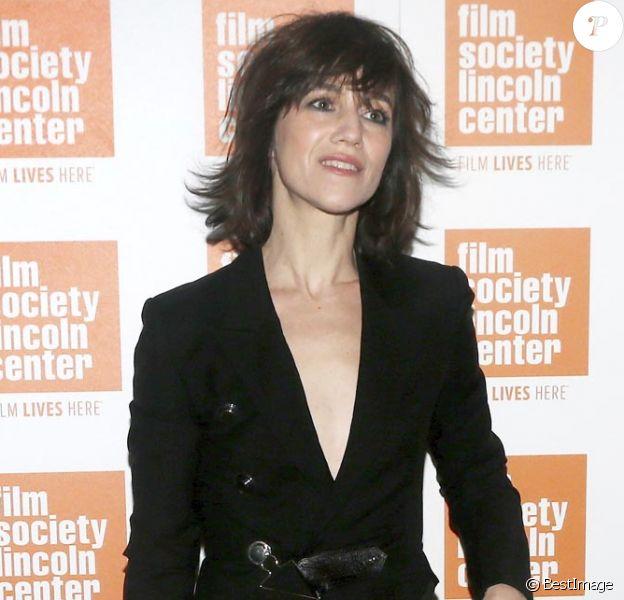 Charlotte Gainsbourg à la rétrospective intitulée Jane and Charlotte Forever à la Film Society of Lincoln Center de New York, le 29 janvier 2016.