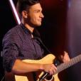 Hadrien dans The Voice 5 sur TF1, le samedi 27 février 201