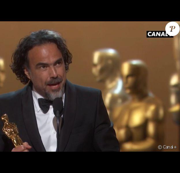 Alejandro Gonzalez Inarritu a gagné l'Oscar du meilleur réalisateur pour The Revenant - 28 février 2016