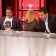 """Les jurés Michel Sarran, Hélène Darroze, Jean-François PIège et Philippe Etchebest - """"Top Chef 2016"""" sur M6, le 8 février 2016."""