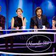 Le jury de Nouvelle Star lors du 3e épisode de Nouvelle Star, sur D8, le mardi 1er mars 2016