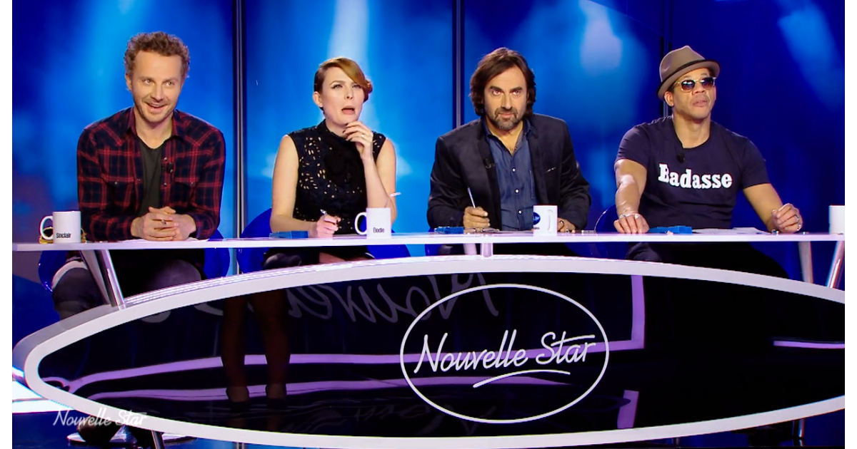 le jury de nouvelle star lors du 3e pisode de nouvelle star sur d8 le mardi 1er mars 2016. Black Bedroom Furniture Sets. Home Design Ideas