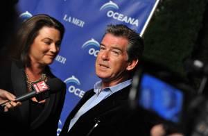 REPORTAGE PHOTOS : Autour de Pierce Brosnan et sa femme, couples stars et vedettes en solo... au bord de l'océan !