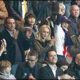Cecile de Menibus grande supporter du PSG avec Stéphane Freiss