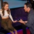 Maria Menounos et son compagnon de longue date Keven Undergaro se sont fiancés. Keven a fait sa demande sur le plateau de l'émission radio d'Howard Stern. Photo publiée sur Instagram, le 9 mars 2016.