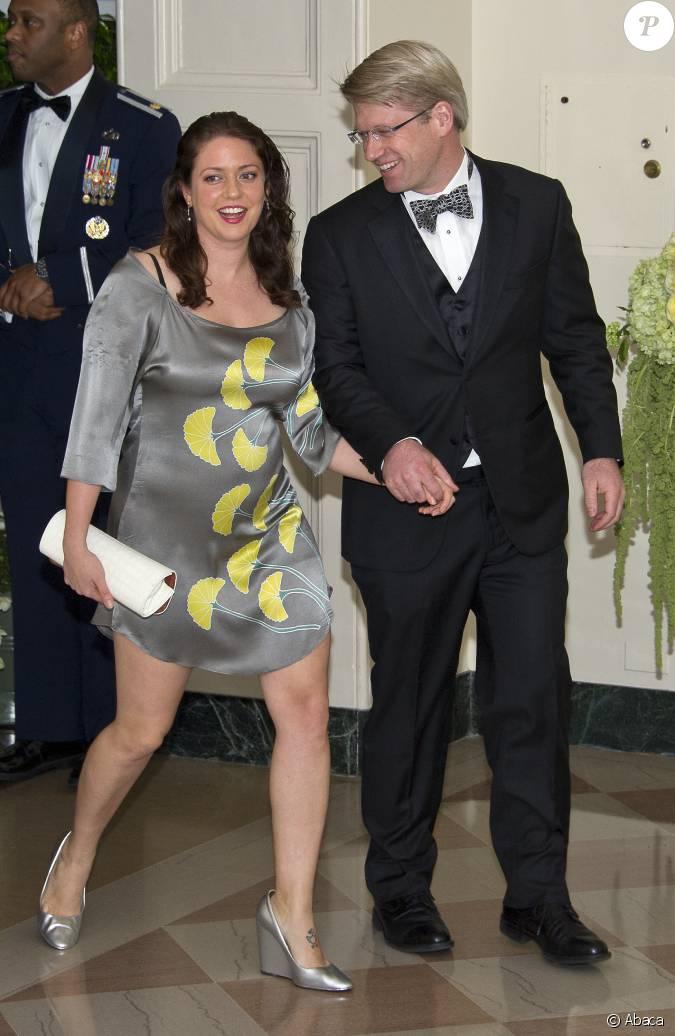 ian simmons et sa femme liesel simmons au d ner d 39 tat en l 39 honneur du premier ministre canadien. Black Bedroom Furniture Sets. Home Design Ideas
