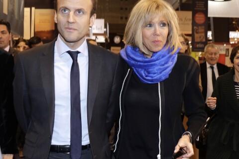 Emmanuel Macron et sa femme s'offrent un bain de foule avec Cyprien !