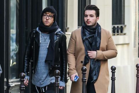 Olympe et son chéri Julien, en promenade à Paris avant le mariage