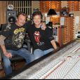Johnny Hallyday et Bob Clearmountain