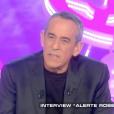 Thierry Ardisson présente  Salut les terriens  sur Canal+, le samedi 19 mars 2016.