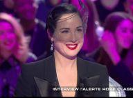Dita Von Teese : Pas insensible au charme de François Cluzet...
