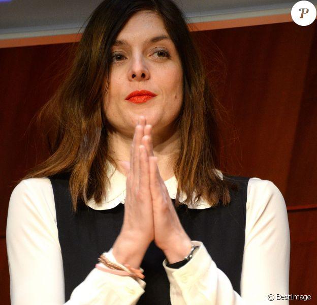 """Valérie Donzelli - Soirée d'ouverture de la 6e édition de """"My French Film Festival"""" à la Tour Eiffel à Paris le 17 janvier 2016. © Veeren/Bestimage"""