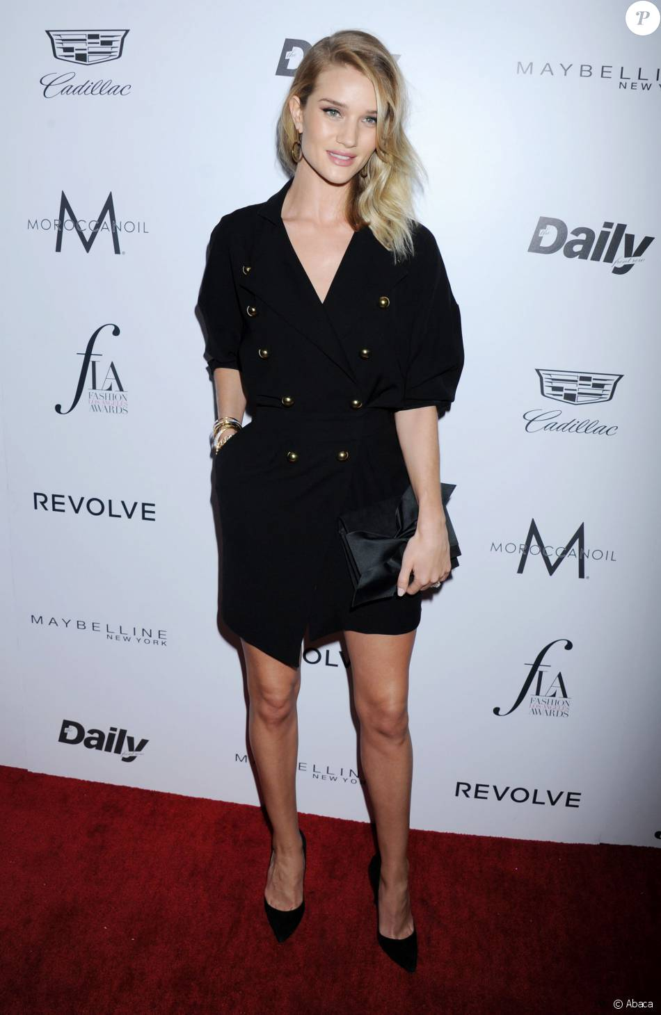 Rosie Huntington-Whiteley aux Daily Front Row's Fashion LA Awards à Los Angeles, le 20 mars 2016.
