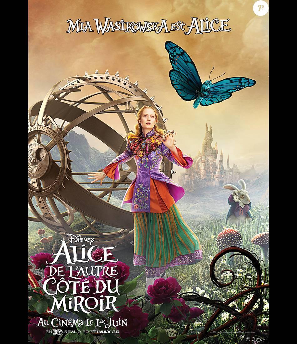 Affiche personnage d 39 alice de l 39 autre c t du miroir for L autre cote du miroir