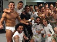 Real - Barça : Cristiano Ronaldo seul en slip pour fêter la victoire !