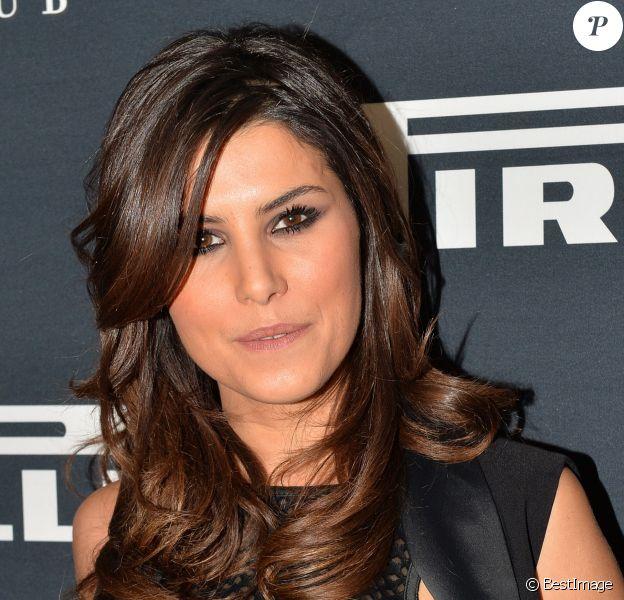 Karine Ferri - Soirée de présentation du calendrier Pirelli 2015 au VIP Room à Paris, le 22 janvier 2015