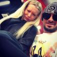 Julien Tanti (Les Marseillais) : Selfie avec sa nouvelle girlfriend, Montaine Mounet, Miss Alpes de Haute-Provence 2015
