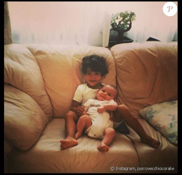 Coralie Porrovecchio (Les Anges 8) : tendre photo avec son frère dévoilée sur Instagram, le 8 avril 2016