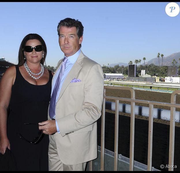 Pierce Brosnan et sa femme