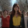 La comédienne Laetitia Milot dévoile le spot publicitaire qui a pour but de sensibiliser le grand public à l'endométriose. Avril 2016.