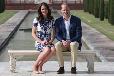 Kate Middleton et William au Taj Mahal : 24 ans après Diana, l'amour triomphe