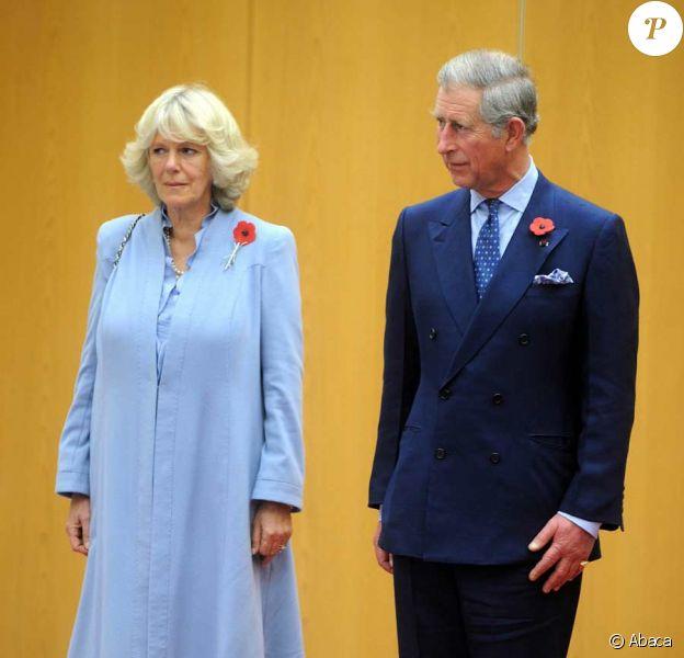 Le prince Charles et Camilla Parker Bowles arrivent au Japon
