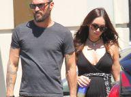 Megan Fox enceinte : Virée shopping avec Brian Austin Green et leurs deux fils