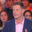 """Matthieu Delormeau s'exprime sur Nabilla et son passage dans """"Sept à Huit"""" sur TF1. Emission """"Touche pas à mon poste"""" sur D8, le 11 avril 2016."""