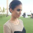 """Miss Hawaï 2014, Moani Hara, en couple avec Nikola Lozina lors du tournage des """"Anges 8"""". La jolie brune est une sacrée beauté !"""