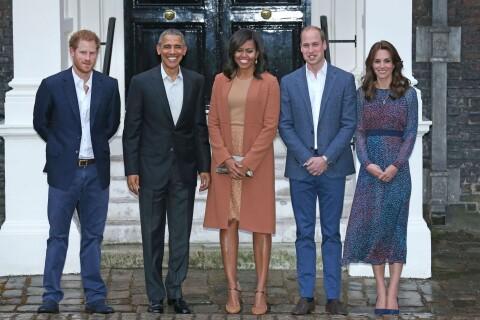 Kate Middleton et William : Dîner à la maison avec Barack et Michelle Obama