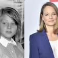 Jodie Foster à 13 ans à Cannes en 1976 et à New York en 2016 (photomontage)
