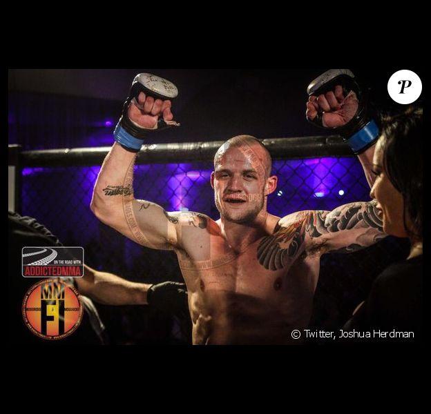 Joshua Herdman, ancien acteur de la saga Harry Potter, se lance dans la MMA.