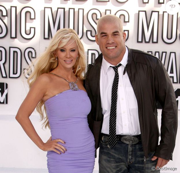 Tito Ortiz et Jenna Jameson  lors des Video Music Awards à Los Angeles, le 12 septembre 2010