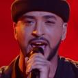 "Slimane - ""The Voice 5"", le premier live sur TF1. Samedi 23 avril 2016."