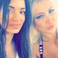 Aurélie Preston et Andréane sur le tournage des Anges 8