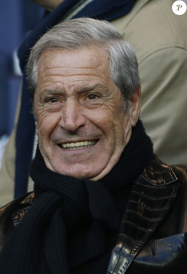 Jean-Claude Darmon - People au match de Ligue 1 PSG-Metz lors de la 32ème journée au Parc des Princes à Paris, le 28 avril 2015.28/04/2015 - Paris