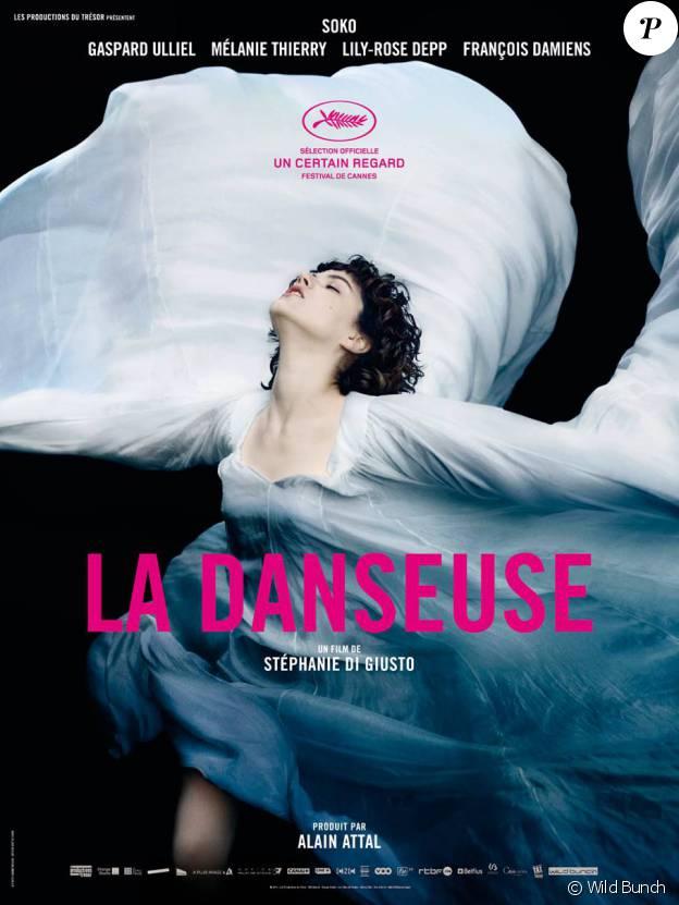 Affiche officielle de La Danseuse.